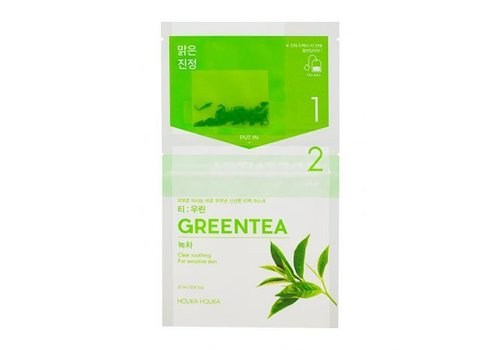 Holika Holika Instantly Brewing Tea Bag Mask Green Tea