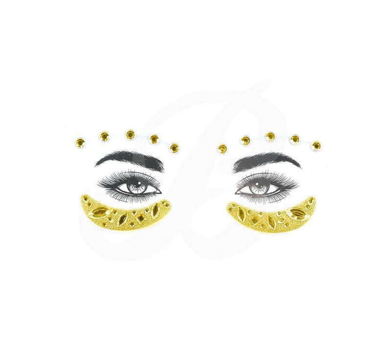 Festival Face Face Gems Mya Gold