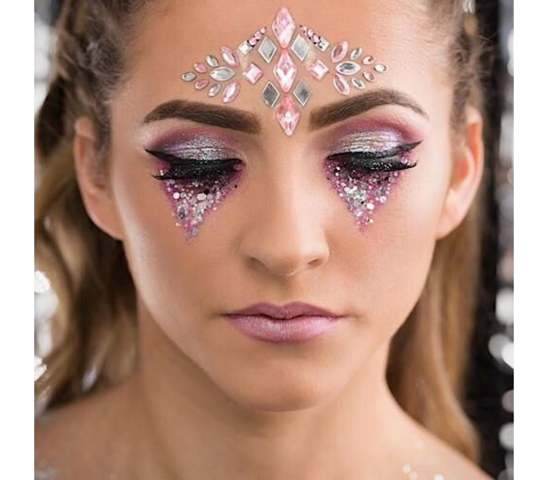Festival Face Face Gems All in One Serenity Pink
