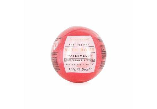 Sunday Rain Bath Bomb Watermelon