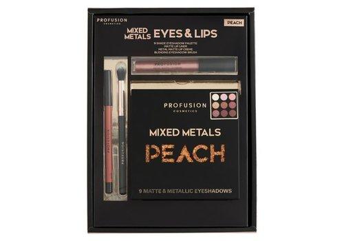 Profusion Mixed Metals Eyes & Lips Peach