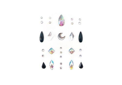 Lunautics Face Gems Cosmic Rain Mix Pack
