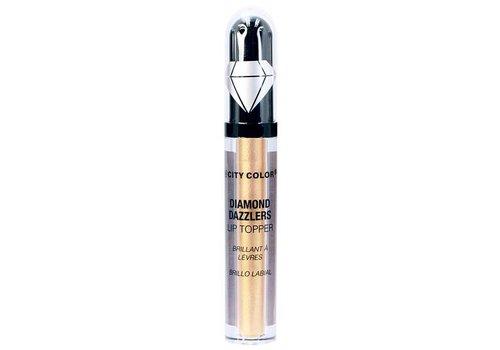City Color Diamond Dazzlers Lip Topper Golden Copper