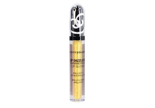 City Color Lip Dazzlers Shimmering Lip Gloss HarvestGold