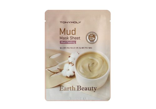 Tonymoly Earth Beauty Mud Mask Sheet