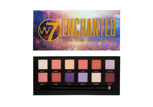 W7 Cosmetics Enchanted Pressed Pigment Eyeshadow Palette