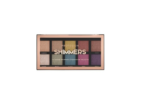 Profusion Shimmers 10 Shades Eyeshadow Palette