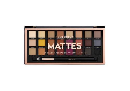 Profusion Mattes 24 Shades Eyeshadow Palette