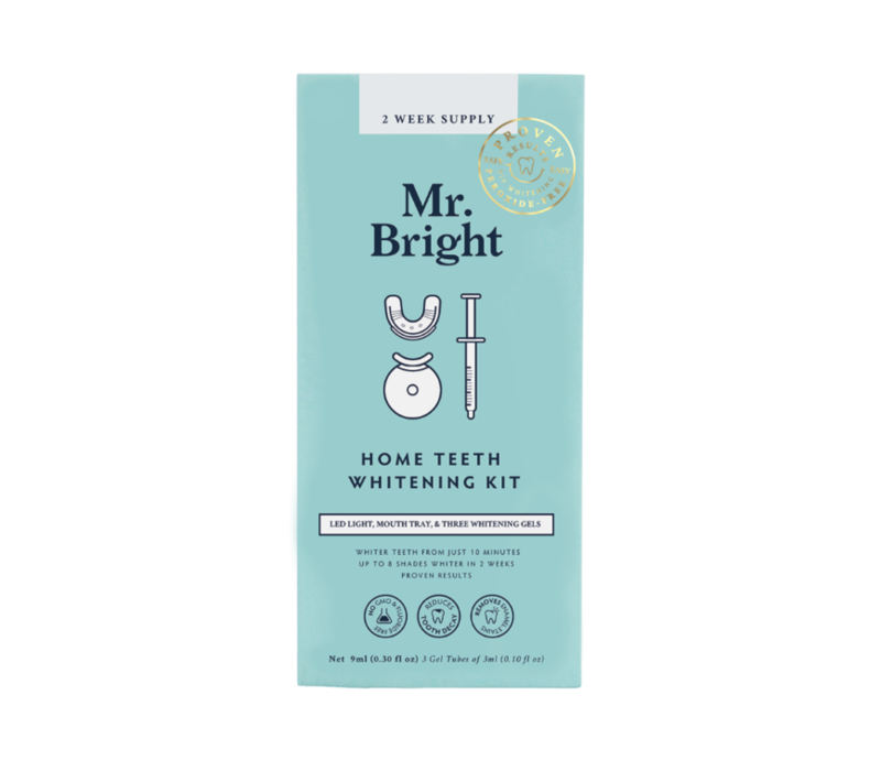 Mr. Bright LED Light Whitening Kit - 2 week supply