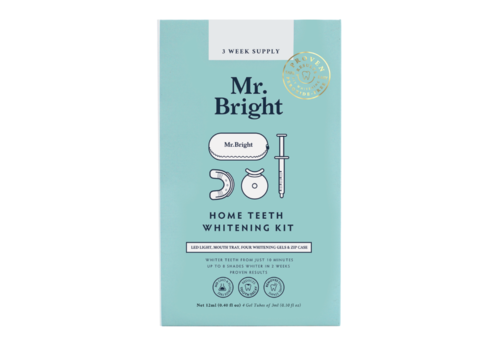 Mr. Bright LED Light Whitening Kit + Travel Case