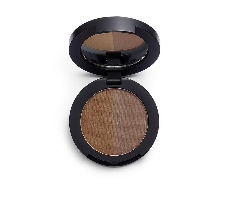 Revolution Pro Duo Eyebrow Powder Ebony