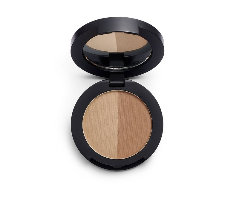 Revolution Pro Duo Eyebrow Powder Soft Brown