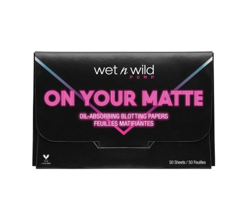 Wet n Wild Oil Absorbing Blotting Papers On Your Matte