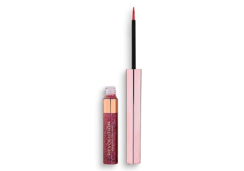 Makeup Revolution Precious Stone Liquid Glitter Eyeliner Rose Quartz