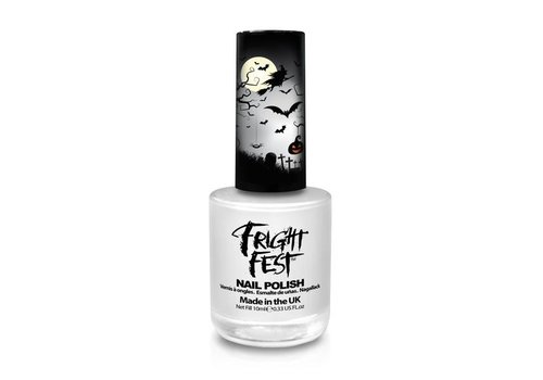 PaintGlow Nail Polish Ghost White