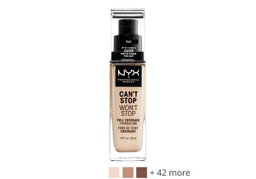 NYX Professional Make Up Can't Stop Won't Stop 24-Hour Foundation