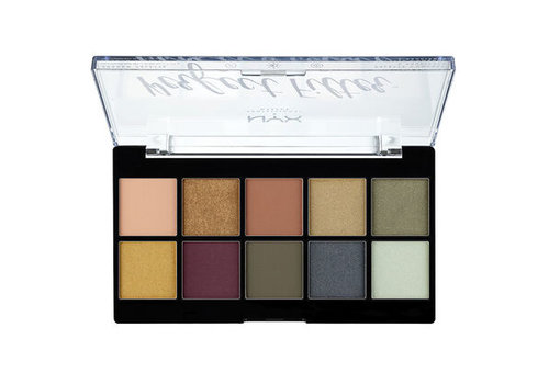 NYX Professional Make Up Perfect Filter Shadow Palette Rustic Olive You