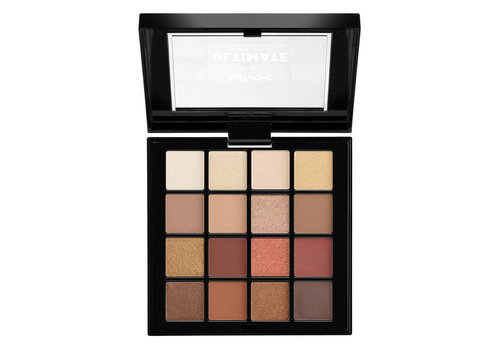 NYX Professional Make Up Ultimate Shadow Palette Warm Neutrals