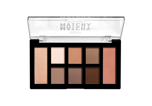 NYX Professional Makeup Matchy Matchy Monochromatic Palette Taupe