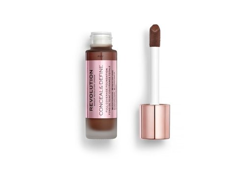Makeup Revolution Conceal & Define Foundation F17.7