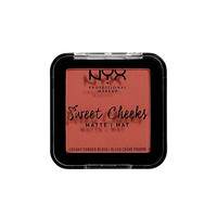 NYX Professional Makeup Sweet Cheeks Creamy Powder Blush Matte Summer Breeze
