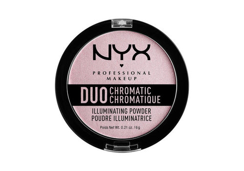 NYX Professional Makeup Duo Chromatic Illuminating Powder Lavender Steel