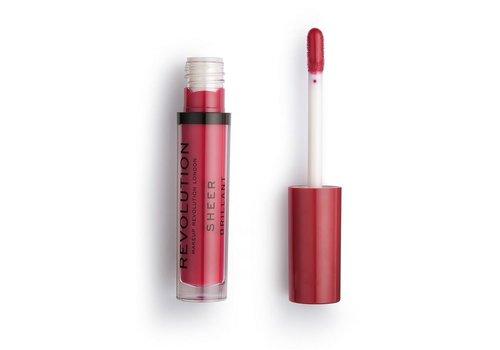 Makeup Revolution Sheer Lipgloss 141 Rouge
