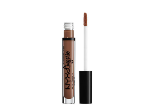 NYX Professional Makeup Lip Lingerie Liquid Lipstick Teddy