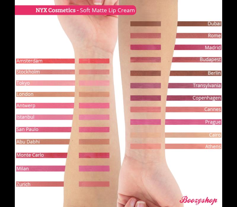 NYX Professional Makeup Soft Matte Lip Cream Cannes