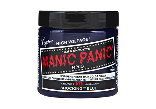 Manic Panic Classic High Voltage Semi-Permanente Haarverf Shocking Blue