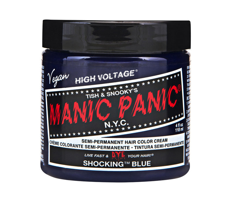 Manic Panic Classic High Voltage Semi-Permanent Hair Colour Shocking Blue