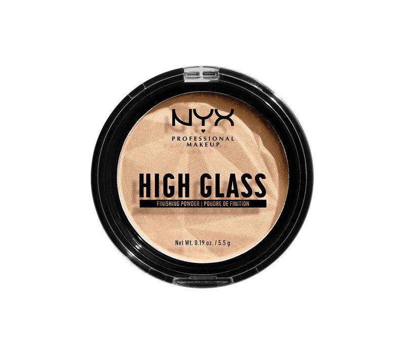 NYX Professional Makeup High Glass Finishing Powder Light