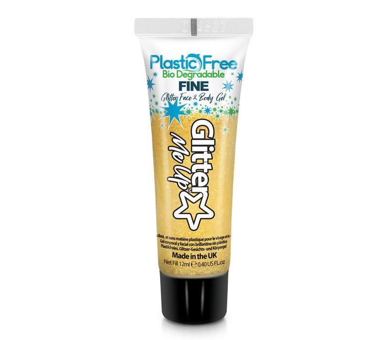 PaintGlow Bio Degradable Fine Glitter Face & Body Gels Daffodil