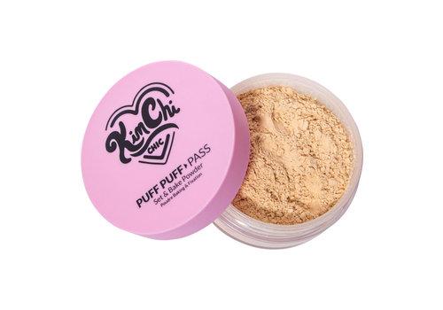KimChi Chic Beauty Puff Puff Pass Set & Bake Powder Peachy