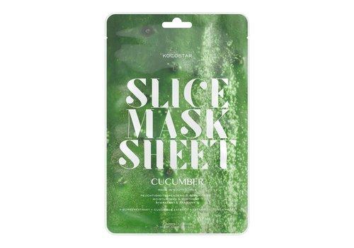 Kocostar Cucumber Slice Mask Sheet