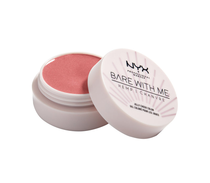 NYX Professional Makeup Bare With Me Hemp Jelly Cheek Color Coral Dream