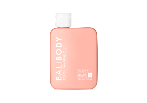 Bali Body Peach Tanning Oil SPF15