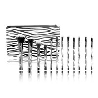 Boozyshop 12 pc. Brush Set Zebra
