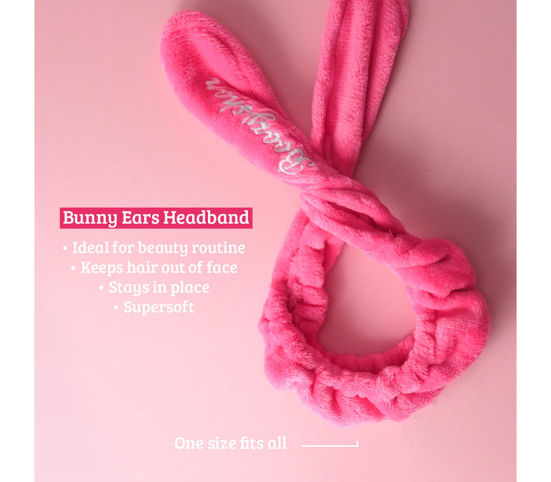 Boozyshop Face Mask Brush & Bunny Ears