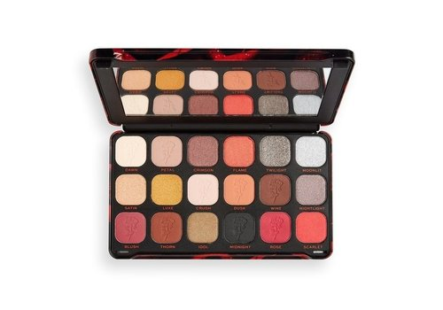 Makeup Revolution Forever Flawless Eyeshadow Palette Midnight Rose