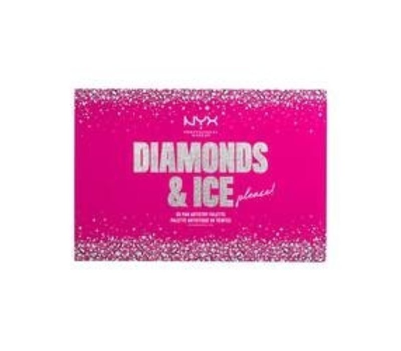 NYX Professional Makeup Diamonds & Ice, Ultimate Artistry Palette