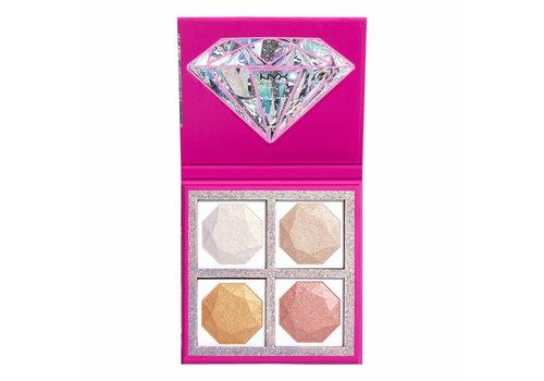 NYX Professional Makeup Diamonds & Ice, Highlighting Palette Best Life