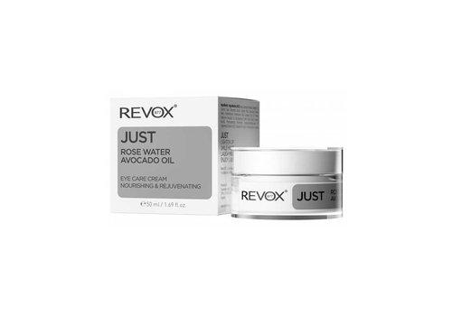 Revox Just Eye Cream Rose Water Avocado Oil