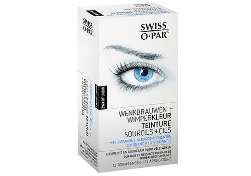 Swiss O-Par Eyebrow and eyelash color Black