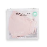 Makeup Revolution 2 Pack Face Mask Set Pink