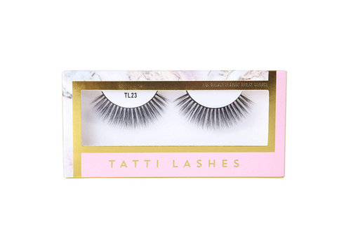Tatti Lashes 3D Brazilian Silk Hair TL23