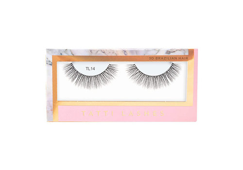 Tatti Lashes 3D Brazilian Silk Hair TL14