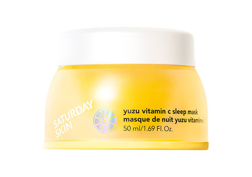 Saturday Skin Yuzu Vitamin C Sleep Mask
