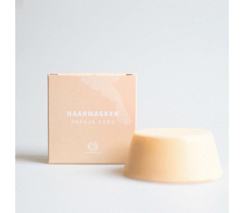 Shampoo Bars Hair Mask Papaya Cherry