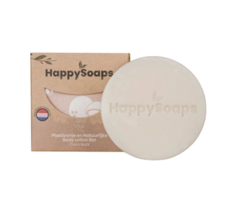 HappySoaps Body Lotion Bar Coco Nuts